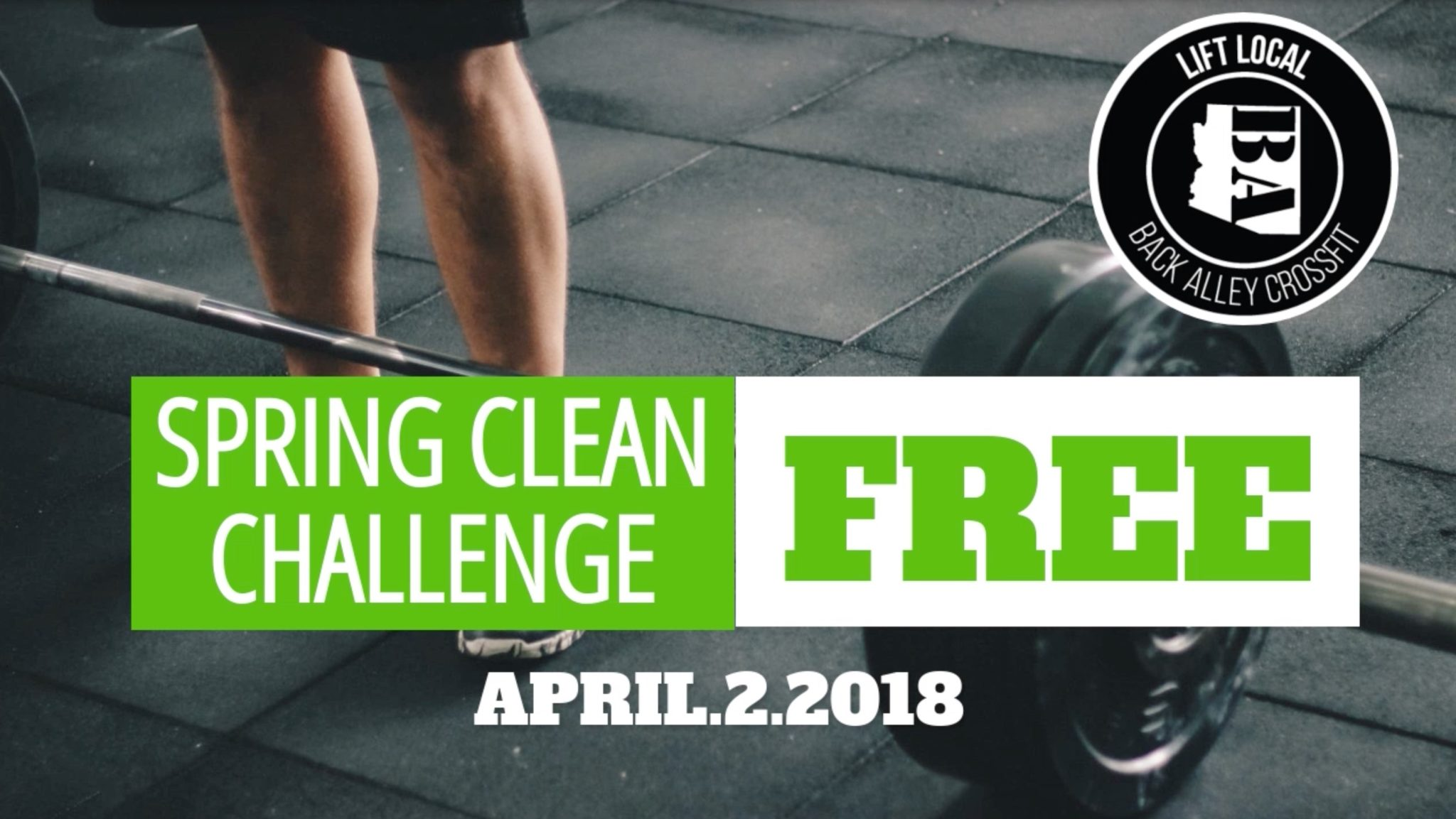 2018 Spring Clean Challenge