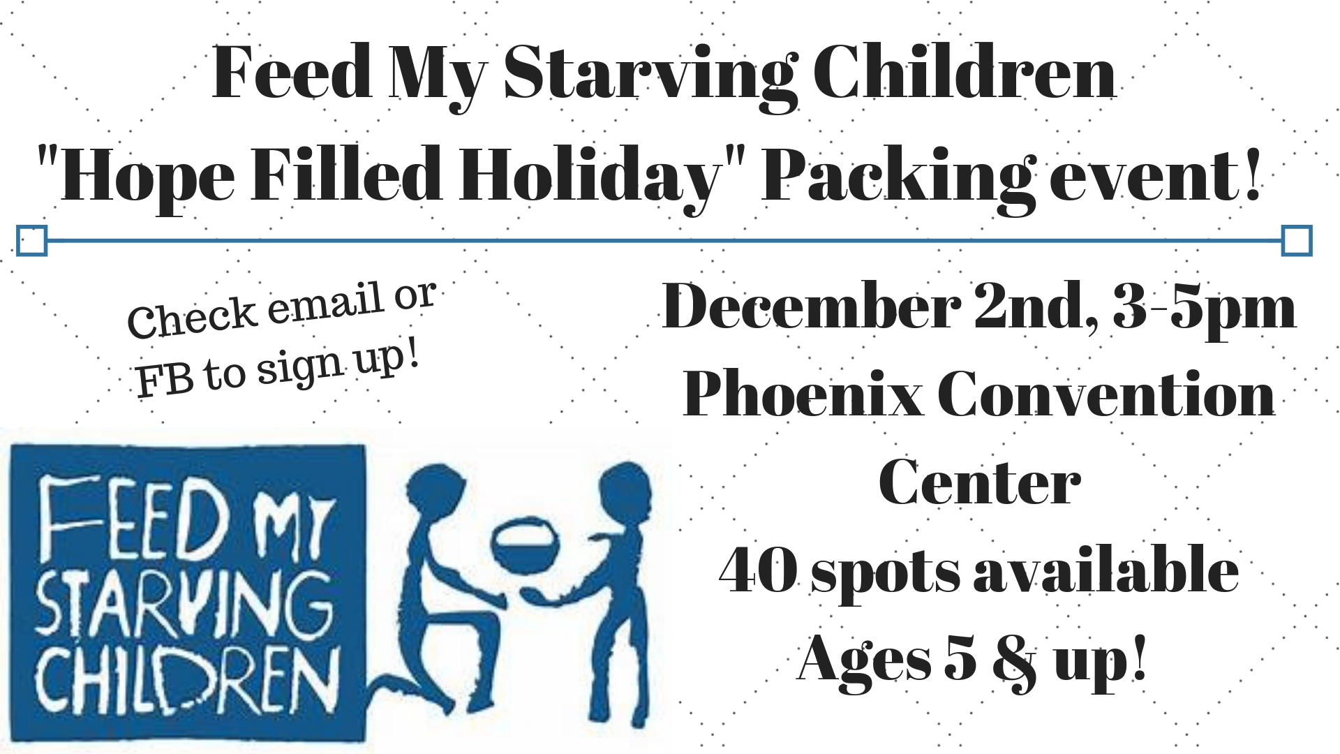 FMSC- Packing Event!