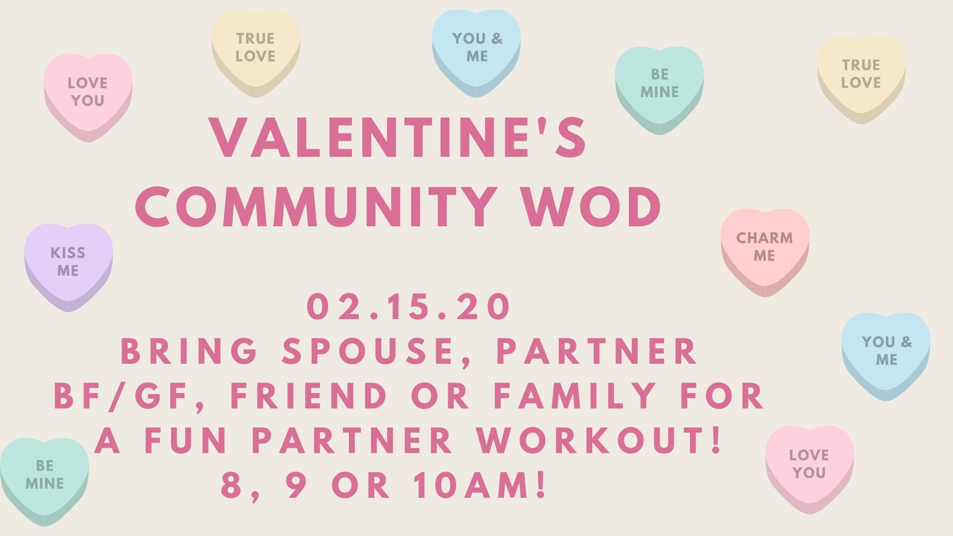 Valentine's Day Community WOD