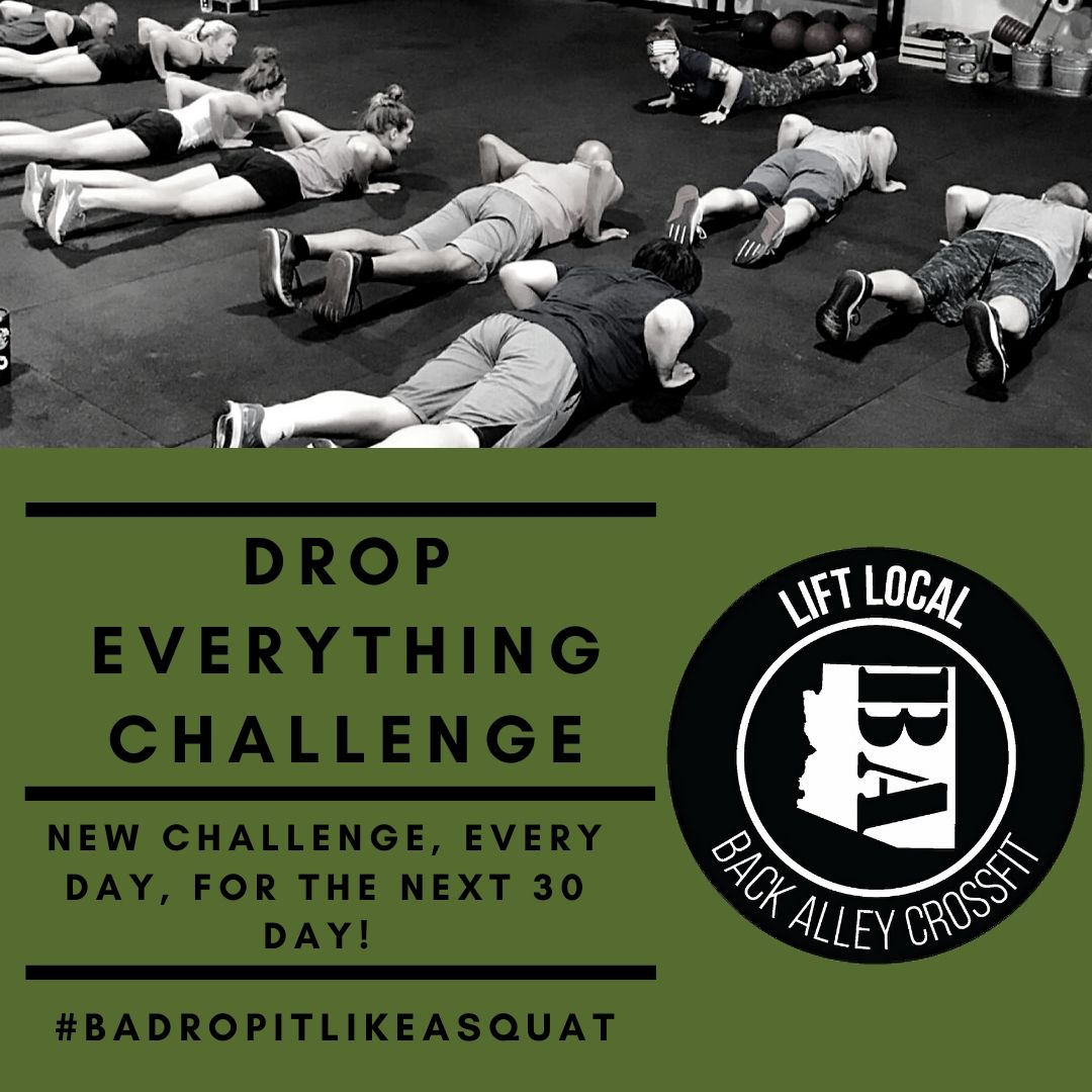 Drop Everything Challenge!